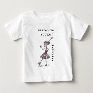 Plunger - Plunging Sucks Baby T-Shirt