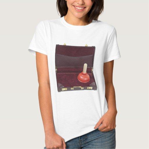 PlungerInBriefcase051411 T Shirt