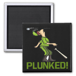 Plunked 2 Inch Square Magnet