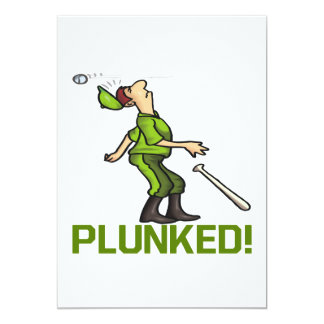 Plunked Card