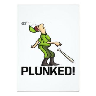 """Plunked Invitación 5"""" X 7"""""""