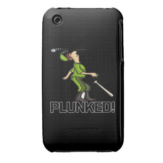 Plunked iPhone 3 Cases