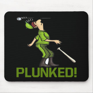 Plunked Mouse Pad