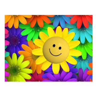 plur floral postcard