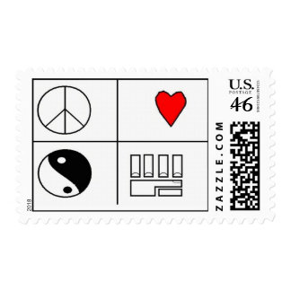 PLUR PIC POSTAGE STAMP