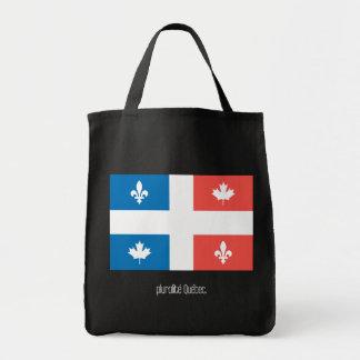 Pluralité Québec Tote Bag