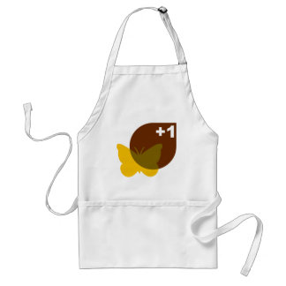 Plus 1 Butterfly Adult Apron