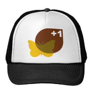 Plus 1 Butterfly Trucker Hat
