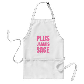 Plus Jamais Sage - Naughty Girl or Boy Adult Apron