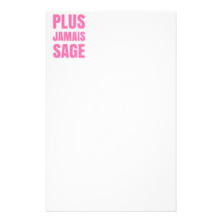 Plus Jamais Sage - Naughty Girl or Boy Stationery