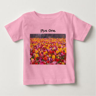 Plus One baby creepers Humor Funny Creepers T Shirt