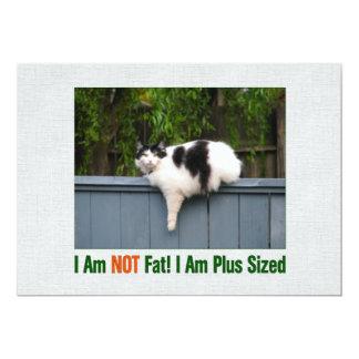 Plus Sized Kitty Card