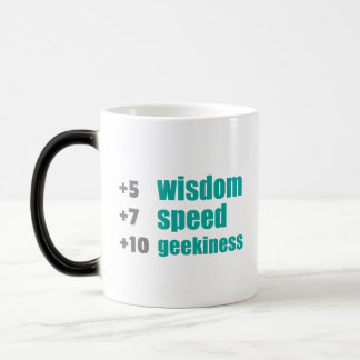 Plus Wisdom and Speed Gamers and Geek Funny Mug