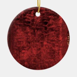 Plush Ceramic Ornament