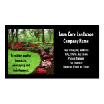 Plush Green Landscape Lawn Care Business Business Card Templates
