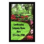 Plush Green Landscape Lawn Care Business Flyer
