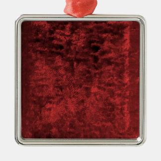 Plush Metal Ornament