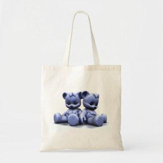 Plushie Blue Bears 2 Bag