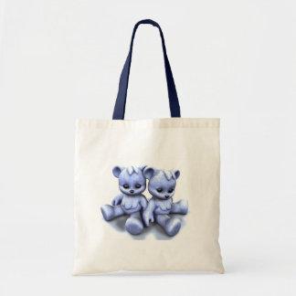 Plushie Blue Bears Bag