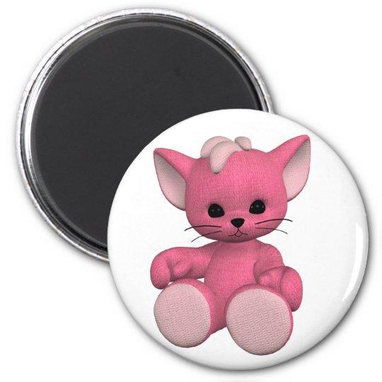 Plushie Kitty Magnet