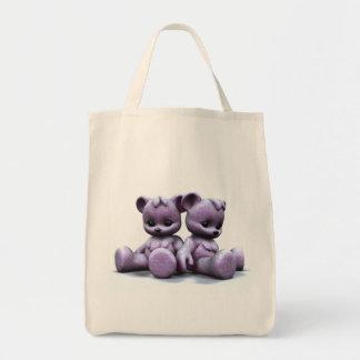 Plushie Pink Bears 2 Bag