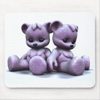 Plushie Pink Bears 2 Mousepad