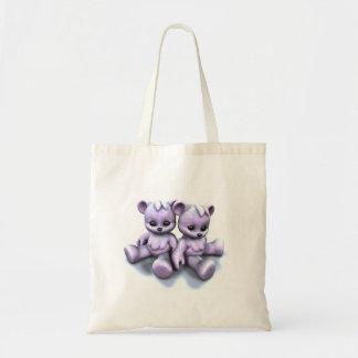 Plushie Pink Bears Bag