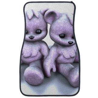 Plushie Pink Bears Car Mat