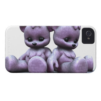 Plushie Purple Bears Blackberry Bold Case