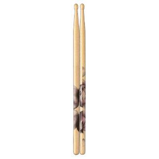 Plushie Purple Bears Drumsticks