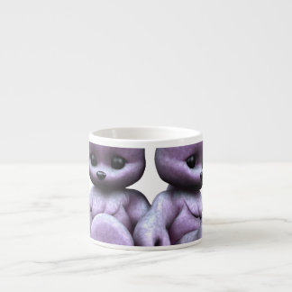 Plushie Purple Bears Espresso Cup