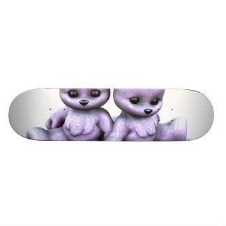 Plushie Purple Bears Skateboard Decks