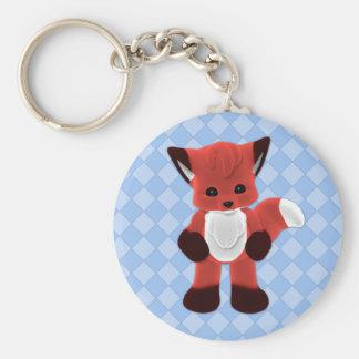 Plushie Toon Fox Keychain