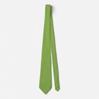 Plushly Ubiquitous Green Color Tie