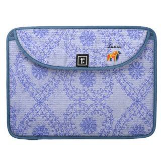 Plushy nylon Dala Horse - Sleeve For MacBook Pro