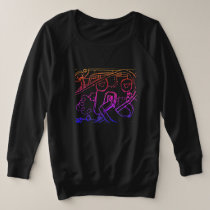#plussize sweatshirt for her by DAL