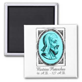 Plutarch 2 Inch Square Magnet