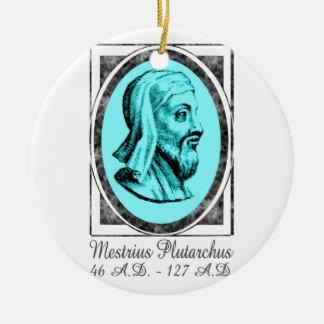Plutarch Ceramic Ornament