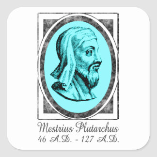 Plutarch Square Sticker