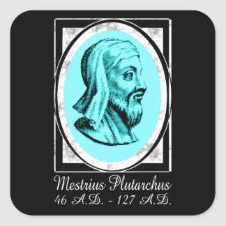 Plutarch Square Sticker