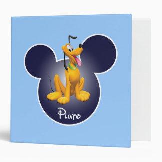 Pluto 1 3 ring binder