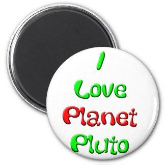 Pluto 2 Inch Round Magnet