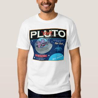 Pluto a Major Vacation Spot Shirts