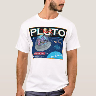 Pluto a Major Vacation Spot T-Shirt