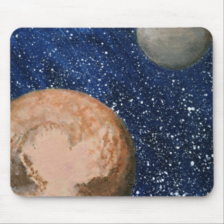 Pluto and Charon Mouse Pad