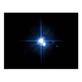 Pluto and Charon Postcard