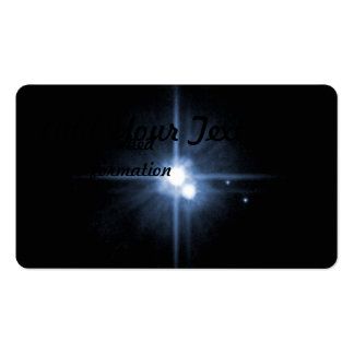 Pluto and Its Moons- Charon, Nix, and Hydra Double-Sided Standard Business Cards (Pack Of 100)