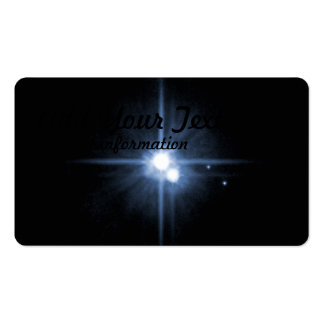 Pluto and Its Moons- Charon, Nix, and Hydra- Unlab Double-Sided Standard Business Cards (Pack Of 100)