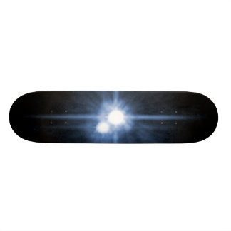 Pluto and Its Moons- Charon, Nix, and Hydra- Unlab Skate Decks