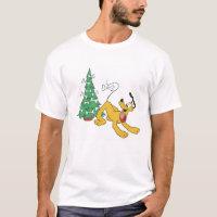 Pluto at Christmas Disney T-Shirt